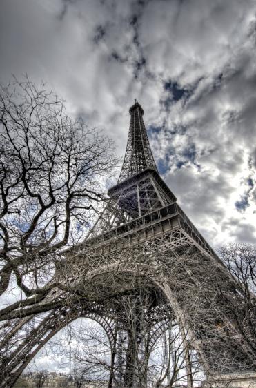 Eiffel Tower, Paris 2014