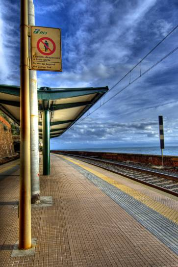 Train station- Cinque Terre, Italy