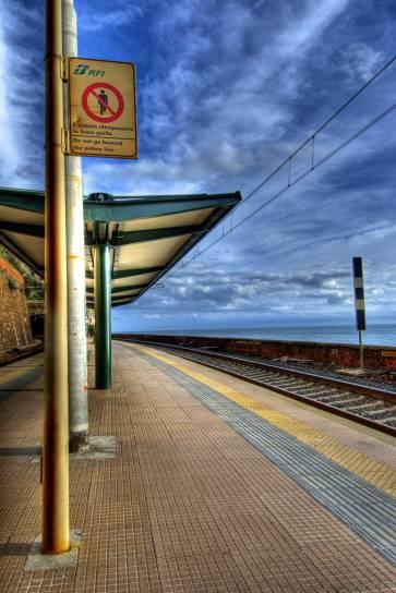 Train station- Cinque Terre, Italy
